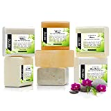 Pifito Melt and Pour Soap Base Sampler (7 lbs) │ Assortment of 7 Bases (1lb ea) │ Clea...