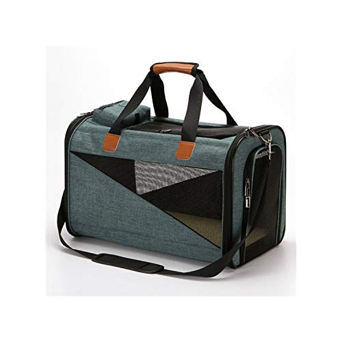 Dog Carrier Bags For Small Dogs Breathable Dog Backpack Outdoor Pet Bag Zipper Pet Cat Shoulder Bag Carrier,1,M