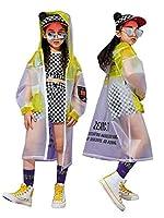 キッズ ダンス 衣装 ヒップホップ ジャケット チェック トップス パンツ 子供ダンス衣装 セットアップ 男の子 女の子 子供服 ヒップホップ ダンス衣装 派手 ストリート 原宿系 ダンスウェア ジャッズ hiphop dj 激安 (トップス+パンツ,150)