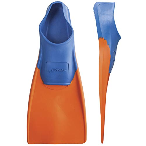 FINIS Kinder Floating-11-1 Swim Fin, Blue/orange, XXS -EU 29-33
