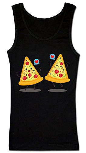 Two Pizza Slices Fell In Love Women's Tank Top Shirt XX-Large