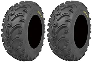 Pair of Kenda Bear Claw (6ply) ATV Tires [25x10-12] (2)