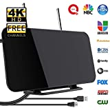 SUHAPPY 300 Miles HDTV Indoor Antenna Aerial HD Digital TV Signal Amplifier Booster Cable