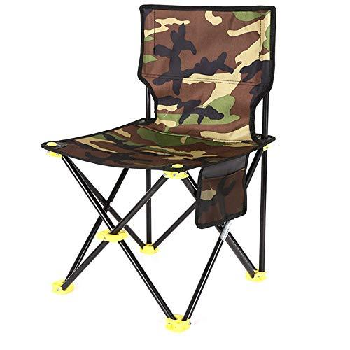 ZHHAOXINFC Mini Chaise Pliante Chaise de Camping Portable- Chaises Pliantes compactes Ultra-légères de Transport, pour randonneurs, Camping, Plage, Plein air réglable, Flat Stool