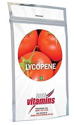 Just Vitamins Lycopene Tomato Extract 6mg 180 Capsules