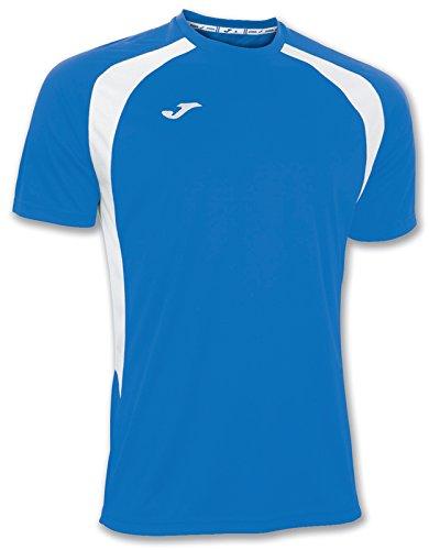 Joma 100014.702 - Camiseta de equipación de Manga Corta para Hombre, Color Azul Royal/Blanco, Talla 2XL-3XL