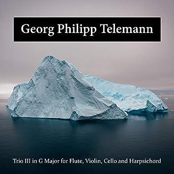 Trio III in G Major for Flute, Violin, Cello and Harpsichord