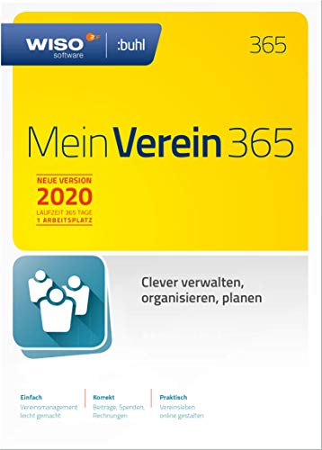 WISO Mein Verein 365 (aktuelle Version 2020) | Standard | PC Aktivierungscode per Email