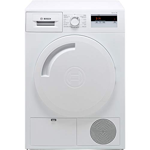 Bosch WTH84000GB Serie 4 8kg Heat Pump Tumble Dryer - White