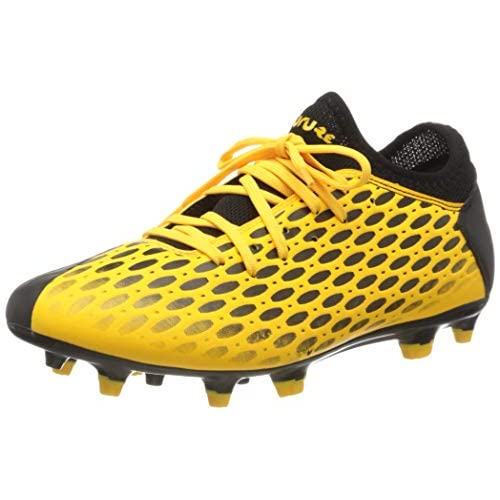 PUMA Future 5.4 FG/AG, Scarpe da Calcio Uomo, Giallo (Ultra Yellow Black), 43 EU