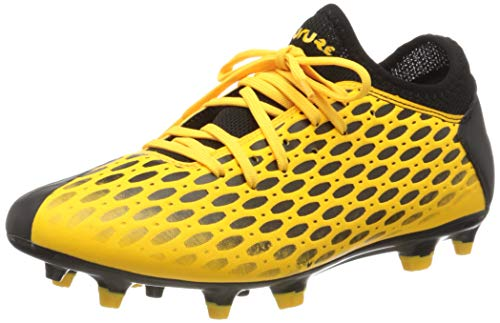 PUMA Future 5.4 FG/AG, Botas de fútbol para Hombre, Amarillo (Ultra Yellow Black), 42 EU