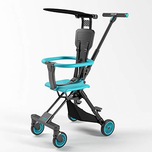Cochecito City flexible y compacto asiento reclinable bidireccional de 6 meses a 36 meses cochecito bidireccional, paraguas de bolsillo pequeño ultraligero, carro plegable ligero y cochecito de bebé
