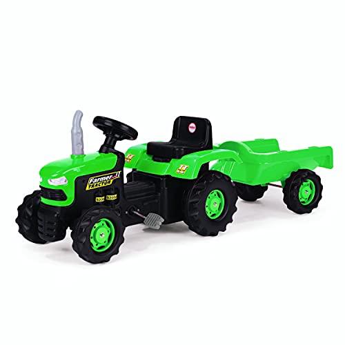 Ozalide - 8153 - Tracteur à Pédales avec Remorque