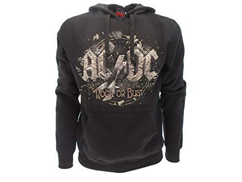 AC/DC official product - Sudadera con Capucha - Hombre Negro M