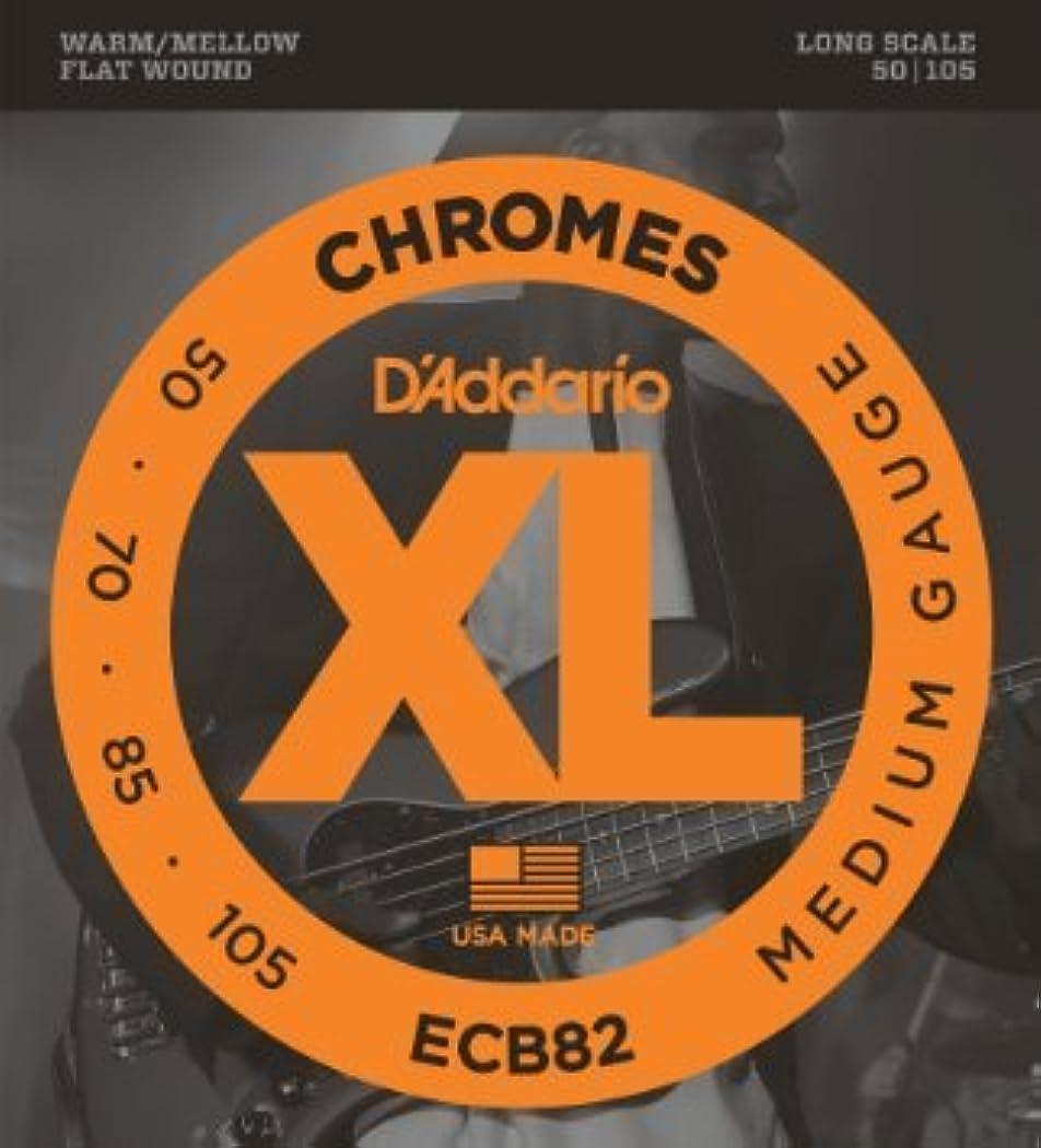 閉じる敗北勝者D'Addario ECB82 フラットワウンド Medium(50-105) ロングスケール ダダリオ ベース弦 ECB-82 【国内正規品】