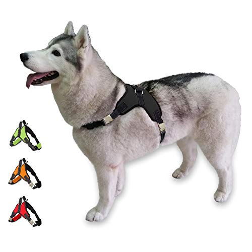 Cosy Meadow Escape Proof Dog Harness - Metal...