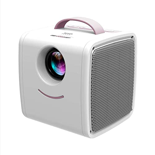 ZHAOHGJ Worth Having - Q2 Mini Proyector LED, PITO Proyector Port Portable Kids Story Proyector, Azul (Color : Pink)
