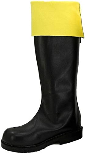 Cosstars Gintama Okita Sougo Female Anime Cosplay Chaussures Bottes bottes