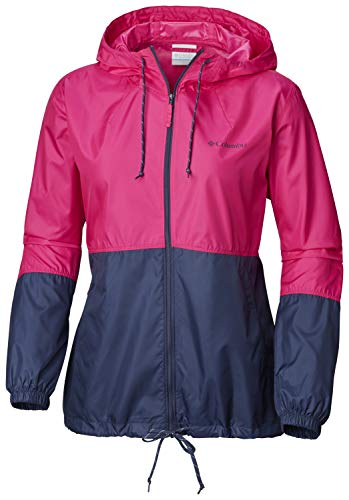 Columbia 1585911 FLASH FORWARD, Cortavientos impermeable, Mujer,...