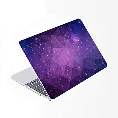 SDH for MacBook Pro 15 inch Case with CD-ROM 2010-2012 Released, Plastic Pattern Cover Hard Protective Shell & Keyboard Cover Only Compatible for Mac Pro 15 inch Model A1286, Starry Sky 3