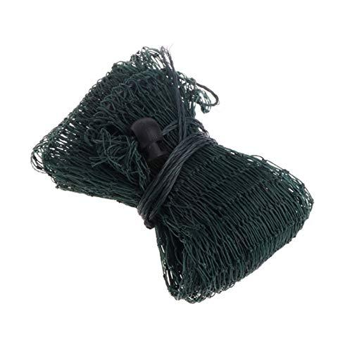 Juan-375 Dauerhaft Angelnetzfalle Nylon-Mesh-Guss-Fischereizubehör Einfache Ladung Fischtasche Tackle Easy Cast Landing Fishing Net Sicheres Fangen oder Freilassen von Fischen (Color : A)