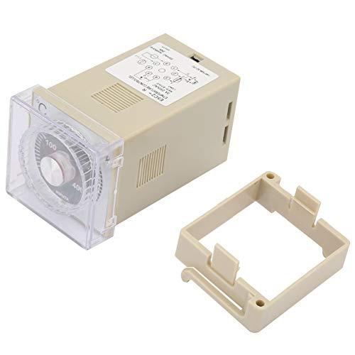 Controlador de temperatura E5C2-R20K 220VAC Controlador de temperatura de punto de entrada digital tipo K Termostato 0-400 ℃