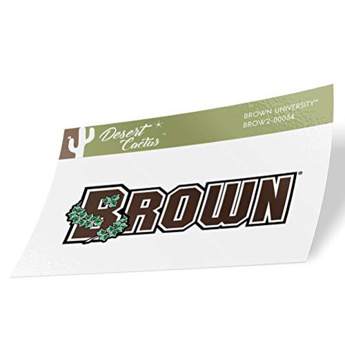 Brown University Bears NCAA Vinyl Decal Laptop Water Bottle Car Scrapbook (Sticker - 00034)