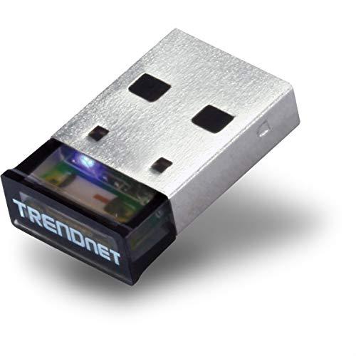 TRENDnet TBW-106UB Adaptador micro-Bluetooth USB 3.0 a distancia hasta 100 metros/328 pies (Windows 8.1, 8, 7, Vista, XP, Bluetooth clásico y compatible con auriculares estéreo)