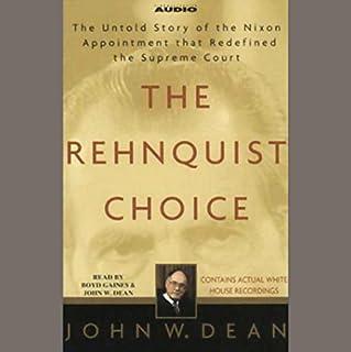 The Rehnquist Choice audiobook cover art
