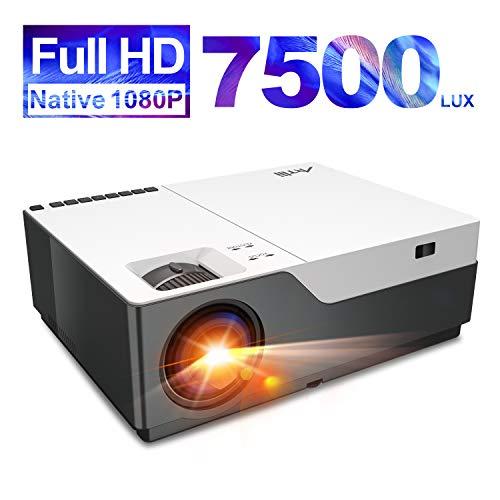 Artlii Performance Videoprojecteur Full HD - Stone 1, 1080P Natif retroprojecteur, Max 300'' projecteur, 300ANSI, Soutien 4K, compatible avec TV Stick, PS4, Switch, XBOX pour movies, jeu vidéo