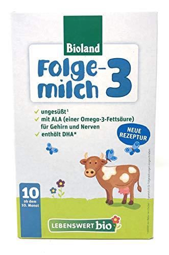 LEBENSWERT Bio Folgemilch 3, 475g