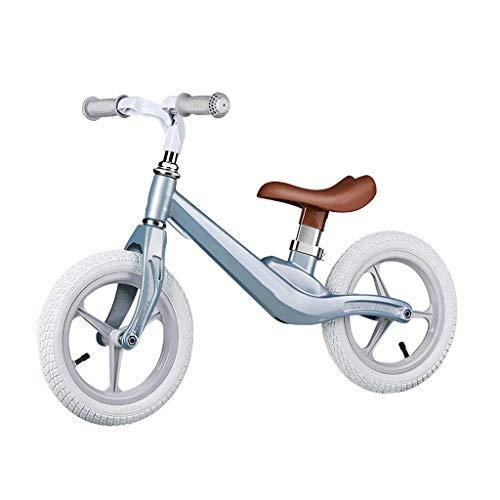 Triciclo Trike Bicicletas De Equilibrio for Niños, Yo-yo for Niños Al Aire Libre, Principiantes Sin Entrenamiento Con Pedales Bicicleta De Dos Ruedas, Rueda De Espuma EVA Ultraligera, 2-6 Años, 4 Colo