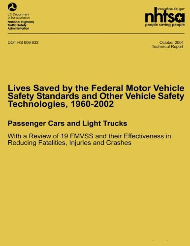 Lives Saved by the Federal Motor Vehicle Safety Standards and Other Vehicle Safety Technologies, 196