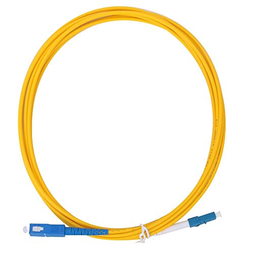 Optical Fiber Patch, 2pcs 3 Meters LC/UPC to SC/UPC Optical Fiber...