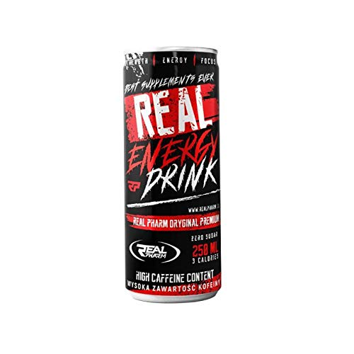 Real Pharm Real Energy Drink 250ml - ZERO SUGAR | 1x250ml