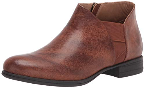 Mootsies Tootsies Women's Marvin Ankle Boot, Camel, 6 M US