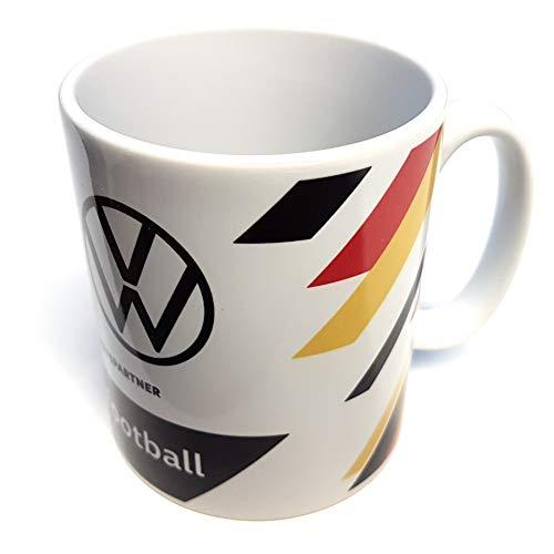 Volkswagen Z094268DF Deutschland DFB Tasse Fußball Fanartikel wedrivefootball Kaffeetasse Porzellan