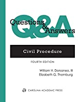 Civil Procedure: Multiple-choice and Short-answer Questions and Answers (Questions & Answers)
