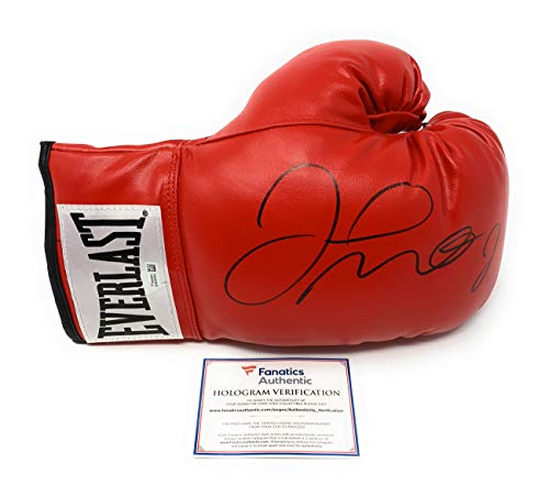 Floyd Mayweather Jr Signed Autograph Boxing Glove Black Ink Fanatics Authentic Certified