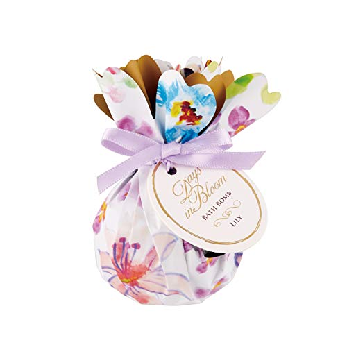 グローバル プロダクト プランニング デイズインブルーム バスボム リリー(入浴料 プチギフト 花ギフト 百合のブーケの香り) 入浴剤 75g