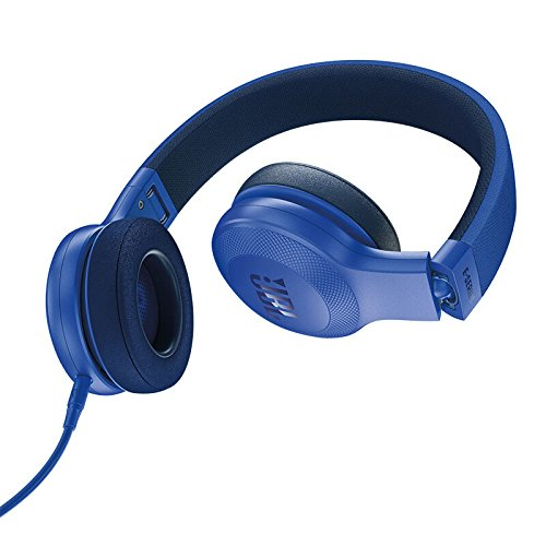 JBL E35 On Ear Signature Headphones with Mic (Blue)