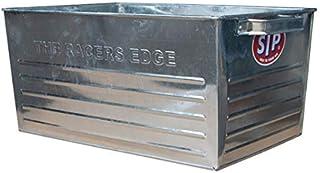 STP スチールボックス L 35cm シルバー 収納ボックス 取っ手付き 収納ケース 金属 インダストリアル ブリキボックス オールドアメリカン 西海岸風 インテリア アメリカン雑貨