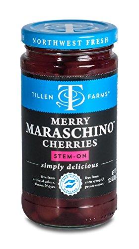 Tillen Farms Maraschino Cherries, 13.5 oz.