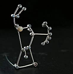 unique constellation jewelry ~ orion brooch