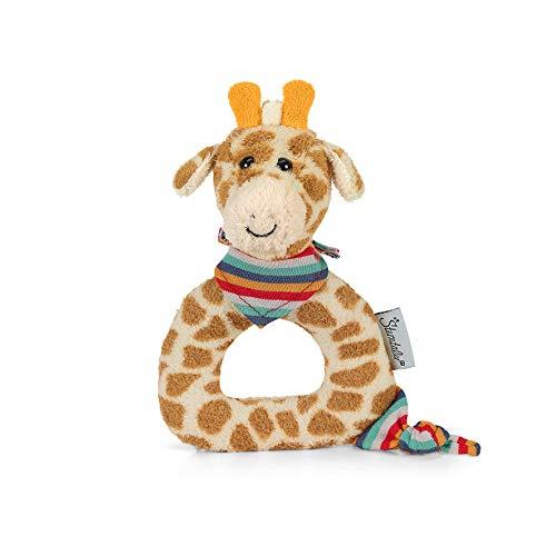 Sterntaler Greifling Kuschelzoo, Giraffe Greta, Alter: 0-36 Monate, Größe: 15 x 14 cm, Farbe: Gelb