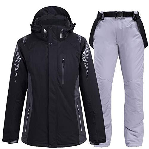 LOYFUN - Trajes de esquí para hombre, para invierno, al aire libre, doble junta,...