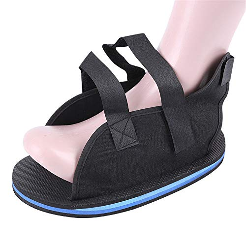 Guoyajf Zapato Postoperatorio para Pie O Dedo Roto | Bota Moldeada para Calzado Médico/Quirúrgico, Abrazadera para Fracturas por Estrés Y Sandalia Ortopédica con Suela Dura,XL