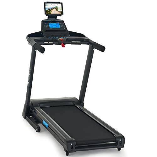 JTX Sprint-7: High Performance 20KPH Home Treadmill with Large Shock Absorbing Running Deck