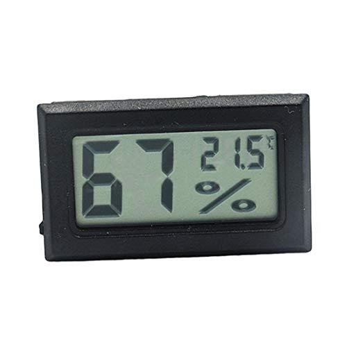 DOXMAL LCD-Digital-Temperatur-Feuchtigkeitsmessgerät-Thermometer, Mini-Digital-Thermometer