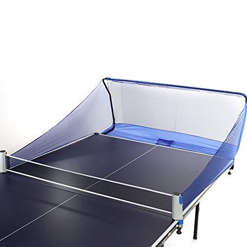 Red de pesca de fibra de poliéster para pelotas de ping-pong que se fija a la mesa de ping pong para recoger la pelota al golpear con robots de tenis de mesa o durante el entrenamiento de varias bolas